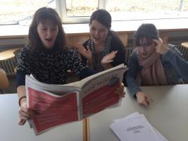 Die Juso Hochschulgruppe Eichstätt liest den Koalitionsvertrag